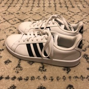 [Adidas] Grand Court Shoes - Size 10